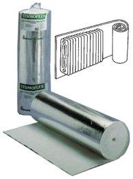 'parafreddo de aluminio 'TERMOFLEX para termosifon Lung MT 10Alt cm 100