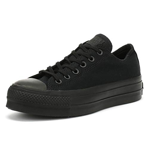 Converse 562926C CTAS Clean Lift Low Sneaker Schwarz Chuck Taylor All Star Double Upper