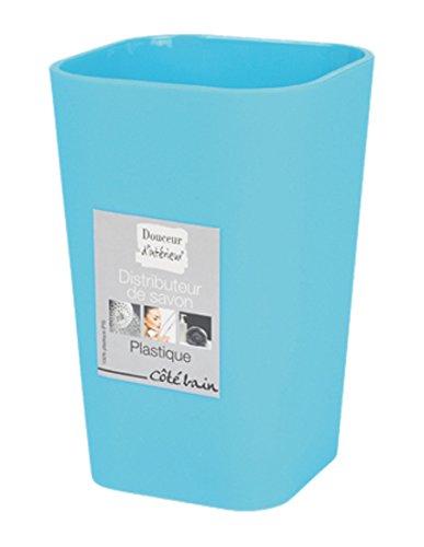 douceur-dinterieur-6asb226bl-becher-badezimmer-ocean-blau-7-x-7-x-11-cm
