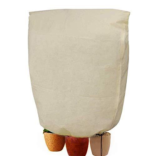 Wordmo inverno impianto antigelo impianto coperchio di protezione coulisse copre giacche impianto di riscaldamento panno coperta frutta albero in vaso in sacchi intemperie (180x120cm)
