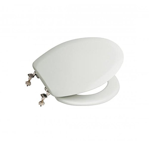 roca-lucerna-a801099004-asiento-de-inodoro-blanco-bisagras-cromadas