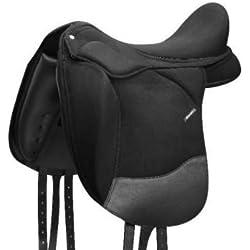 Wintec Pro Dressage - Montura de caballo, color negro