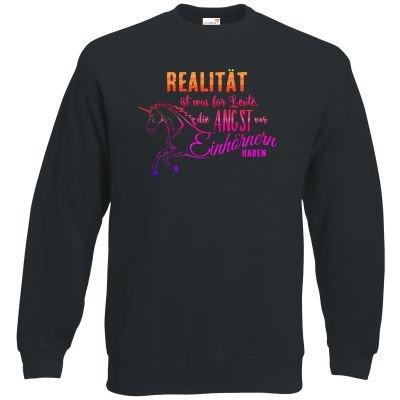 getshirts-RAHMENLOS-Geschenke-Sweatshirt-Einhorn-Design-Realitaet-2