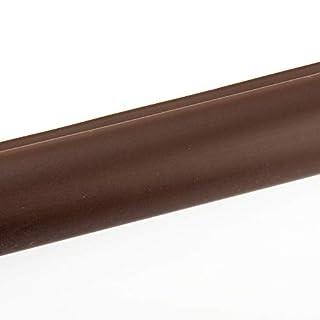 Treppenkanten Kunststoff Profil 100 x 5,0 x 3,5 cm dunkelbraun