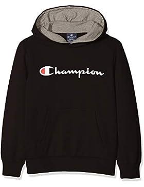 Champion Hooded Sweatshirt, Sudadera con Capucha para Niños