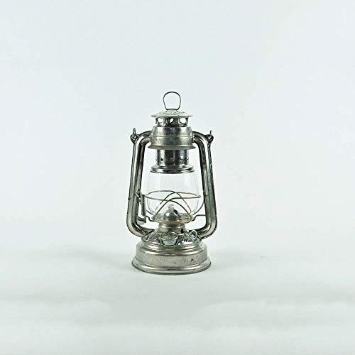 Edelstahl-Öllampen-Kugel 110 cm