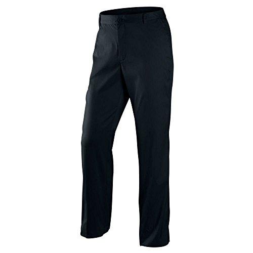nike golf tour performance flat front tech golf pants dri fit 597323 012 (32 waist 32 leg) -