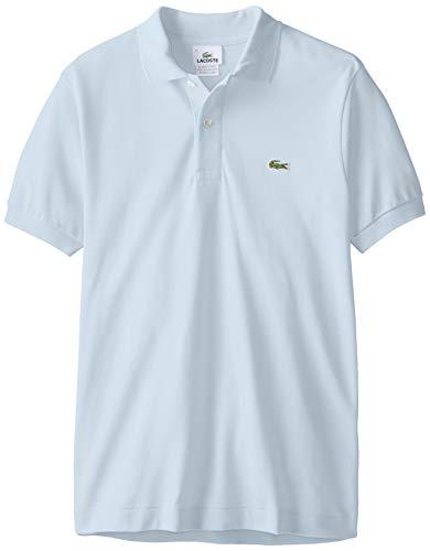 Lacoste Herren Regular Fit Poloshirt L1212 Einfarbig, Blau (L63 MINERAL), XL (Herstellergröße: 6) -