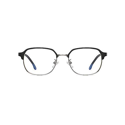 Blaues Licht blockierende Gläser [Lightweight TR90] Transparente Linse, Computerbrille, Blendschutzmüdigkeit Blockierendes Kopfweh Augenlinderung, Schutzbrille für Computer/Telefon-2