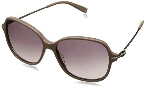 Max Mara Damen MM BRIGHT II EU UIK 58 Sonnenbrille, Silber (Nude Pallad/Grey Sf),