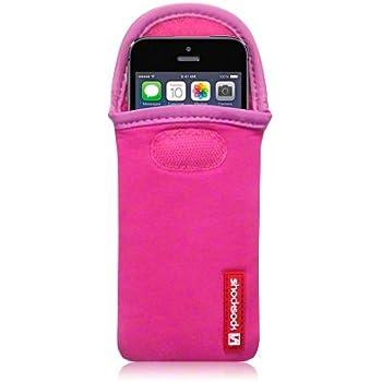 Shocksock Neoprene Case for iPhone 5S - Hot Pink