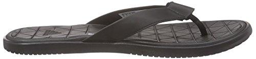 adidas Caverock, Chaussures de Plage et Piscine Homme Negro (Negbas / Ftwbla / Negbas)