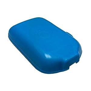31cY0udKVuL. SS300  - Schutzhülle & Displayschutz für Freestyle Libre I & II Blutzucker Messgerät, Anti-Rutsch Material, Schutzcover Blau