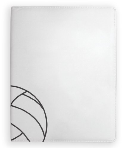 textured-volleyball-themed-portfolio-with-notepad-pen-card-holder-by-zumer-sport