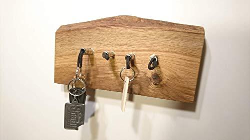 Schlüsselbrett aus Holz für 4 Schlüssel -