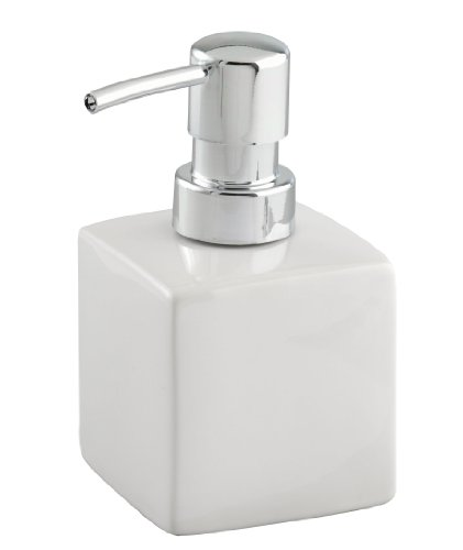 Wenko 17845100 Ceramic Soap Dispenser Square white