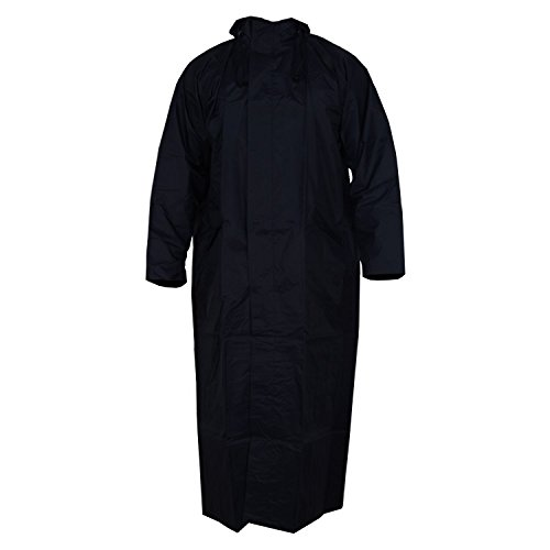 Krystle Women's Black Overcoat|Raincoat