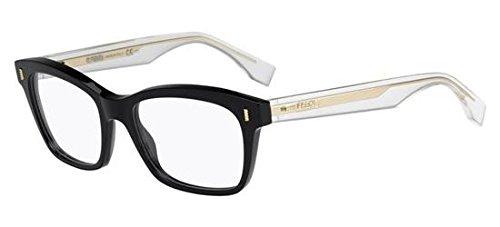 Fendi Für Frau 0027 Fashion Colour Block Black / Crystal Kunststoffgestell Brillen
