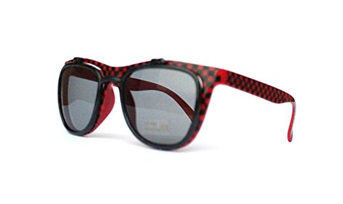 59er 60er Jahre Retro Vintage Sonnenbrille Sommerbrille Clubmaster Style Rockabilly Trend 2017 2018 Mode Fashion Fashionbrille Beach Club Designer Brille punkte rot