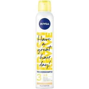 Nivea Haarpflege Shampoo Fresh Revive 3 in 1 Trockenshampoo Dunkle Haartöne 200 ml
