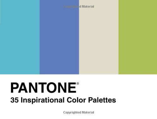 Price comparison product image Pantone: 35 Inspirtional Colour Pallets