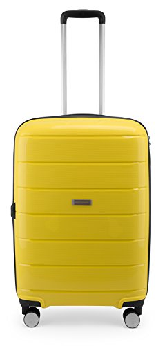 HAUPTSTADTKOFFER - PRNZLBRG - Hartschalenkoffer Trolley Rollkoffer Reisekoffer, TSA, 66 cm, 77 Liter, Gelb - 2