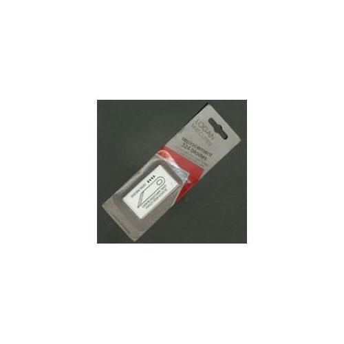 Daler-Rowney 804020320 Logan Klingen für Passepartoutschneider, 20 Stück