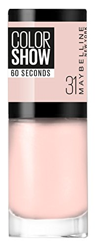 Gemey Maybelline colorshow–Nagellack 31Farbe: Pfirsichfarben - Hautfarbe, hell