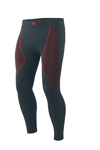 Dainese-D-CORE THERMO PANT LL, Schwarz/Rot, Größe M