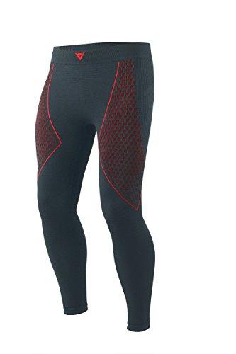 Dainese-D-CORE THERMO Pantaloni da moto  LL, Nero/Rosso, Taglia L