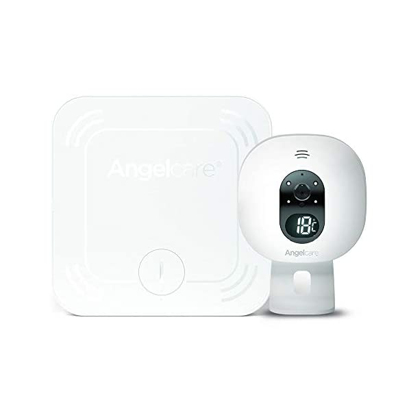 Angelcare Extra Movement Sensor Pad and Nursery Unit Angelcare Wireless sensasuretm movement sensor pad Alarm will sound if there is no movement after 20 seconds Watch & track movements of 2 children at the same time 1