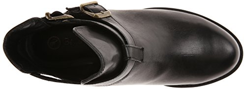 Bella Vita Raine Large Cuir Bottine Black
