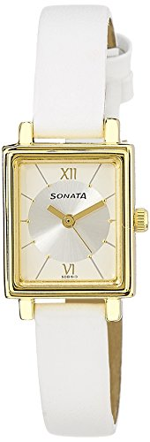 Sonata SFAL Analog Silver Dial Women's Watch - NF8080YL01 image