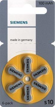Siemens Typ 10 - 30 Stück Hörgerätebatterien