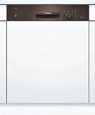 Bosch SMI24AM00E Semi-incorporado 12espacios A++ lavavajilla - Lavavajillas (Semi-incorporado, Tamaño completo, Marrón, Botones, Giratorio, Canasta, Acero inoxidable)