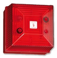VISUAL SIGNAL INDICATOR, RED, IP65 FL40/D50/R/RN By CLIFFORD AND SNELL Visual Signal Indicator