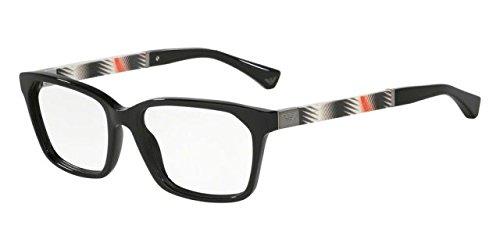 Armani EA3095F Eyeglass Frames 5017-54 - Black