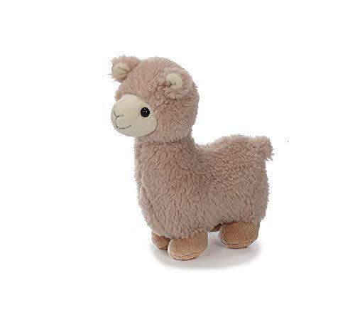 Bavaria-Home-Style-Collection Lama Alpaka - ca 20 cm - Farbe Braun oder Beige - Plüsch, Plüschtier, Plüschlama, Kuscheltier , Kuscheltier für Kinder Spielzeug (beige)
