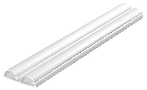 """D-Line Kabelkanal \""""Mittel\"""" Profil 30 x 15 mm 1 m weiß (2 Stück)"""
