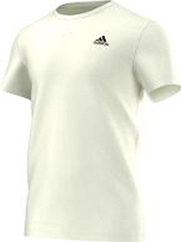 adidas Herren Essentials Premium T Shirt Weiß/Schwarz