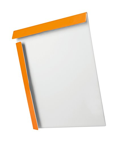 Biella Magnet-Klemmbrett Attraction orange, DIN A4, SWISS MADE