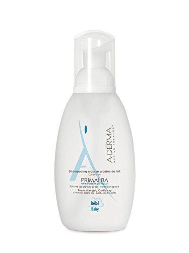 Aderma Primalba Cradle Cap Foam Shampoo 150ml (Shampoo Cap Cradle)