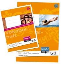 Vokabelheft A5 liniert m.Mittelstrich 32 von format-x - Lampenhans.de