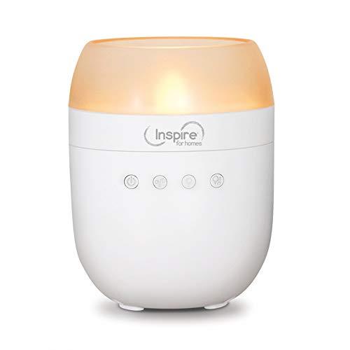 Inspire for homes 0368083 Diffuseur d'huiles essentielles Inspire A-One Plastique, Blanc & orangé, 13,5 cm
