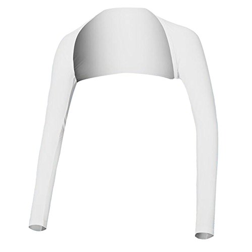 Black Temptation Golf-Bekleidung Shirts Damen Golf-Bekleidung Sonnenschutzkleidung Wraps Weiß