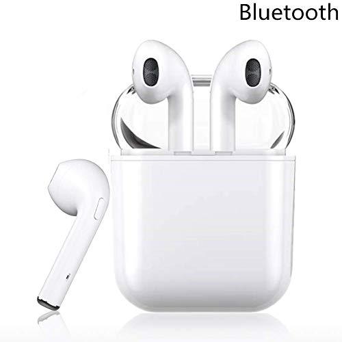 Auricolare bluetooth, cuffia auricolare per la riduzione del rumore delle cuffie auricolari wireless, cuffie hifi con microfono, compatibile con iphone x 8 8 plus e android