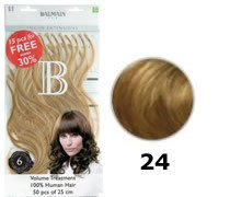 Balmain Fill-In Extensions Value Pack Natural Straight- 24, blond