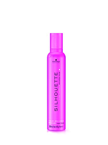 Silhouette Color Brillance Super Hold Espuma Color Ultra Fuerte - 500 ml