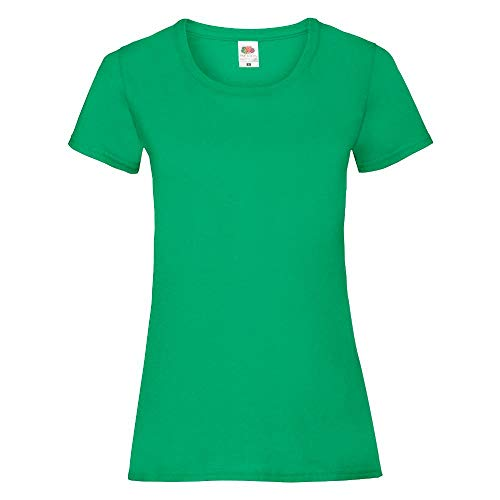 Fruit of the Loom - Lady-Fit Valueweight T - Modell 2013 L,Kelly Green