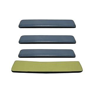 4 x Möbelgleiter Teflongleiter Supergleiter Teflon Gleiter selbstklebend 100 x 25mm SAMWERK®